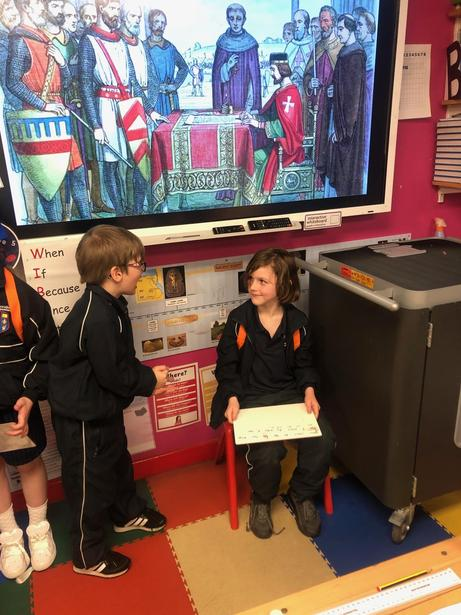 Role Play: King John informs Pope Innocent III about the Magna Carta