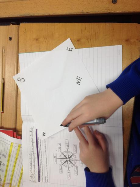 Using directions to create a classroom map