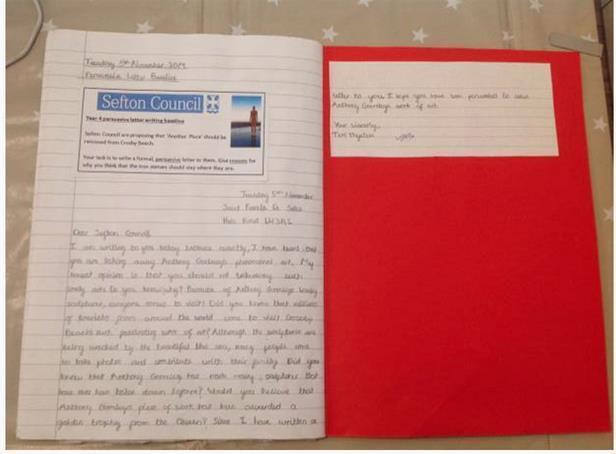 Independent Persuasive Letter Baseline