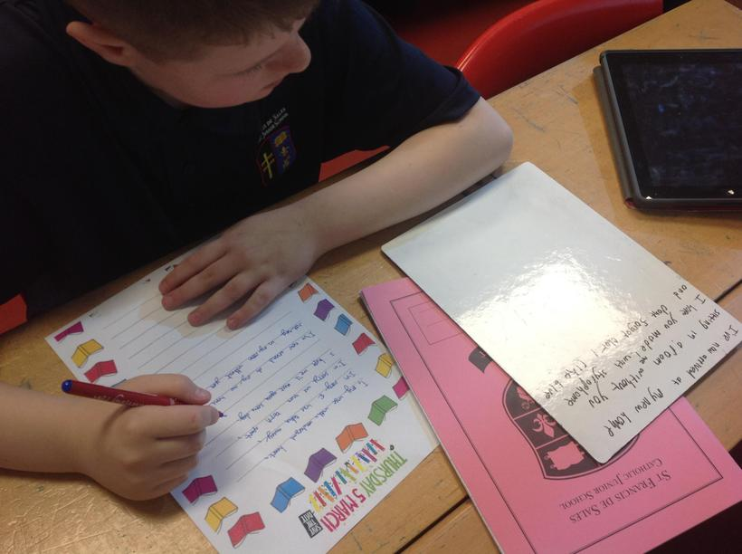 Organising activities for World Book Day