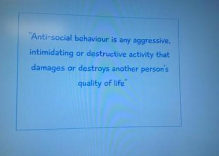What is Anti-social Behaviour?