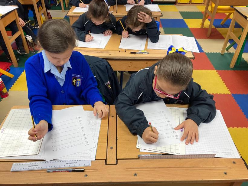 Offering peer-advice to build number line skills