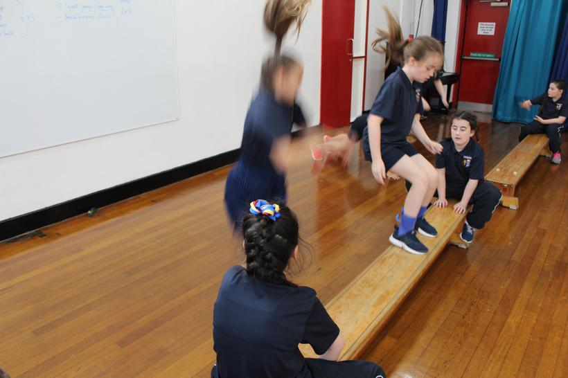 Step ups with peers assessment
