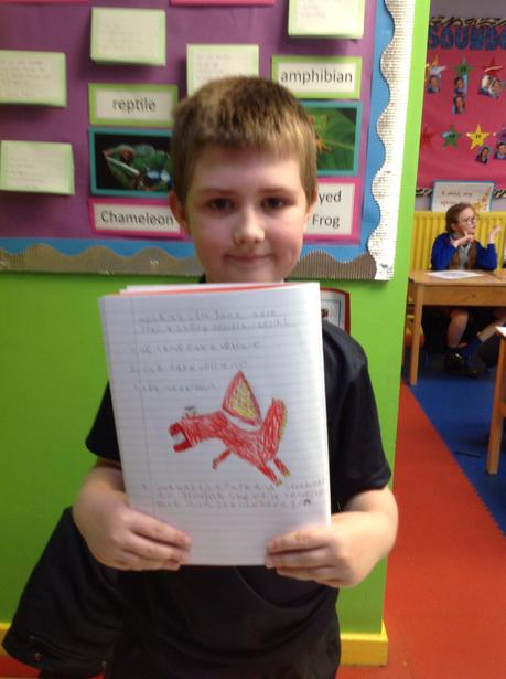 Designing our magical dragon's!