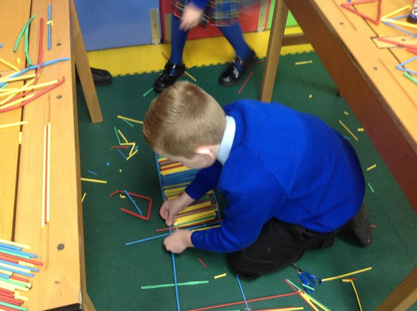 Building strong structures that support weight
