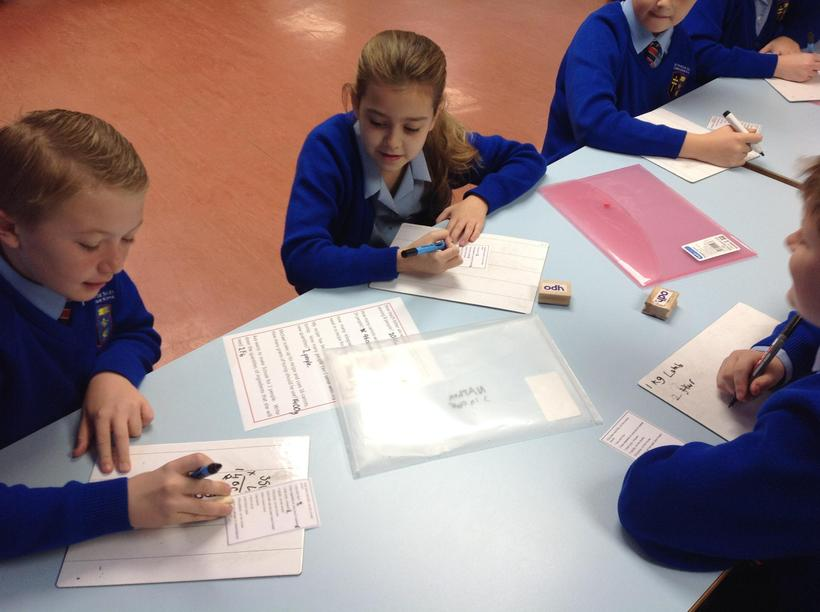 Using times tables to scale quantities