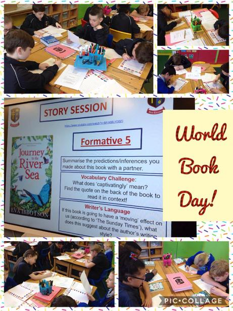 Celebrating 'World Book Day'