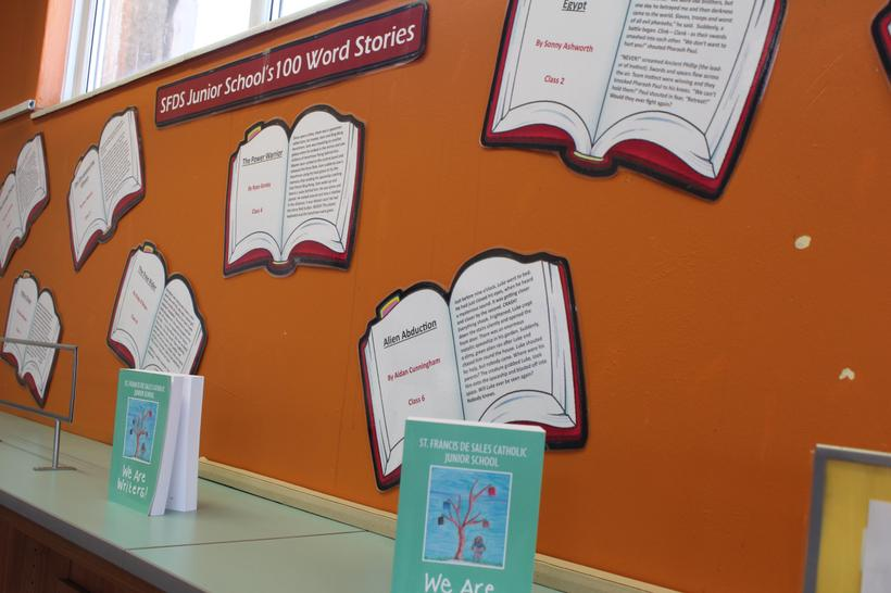 Display at our local Spellow Library
