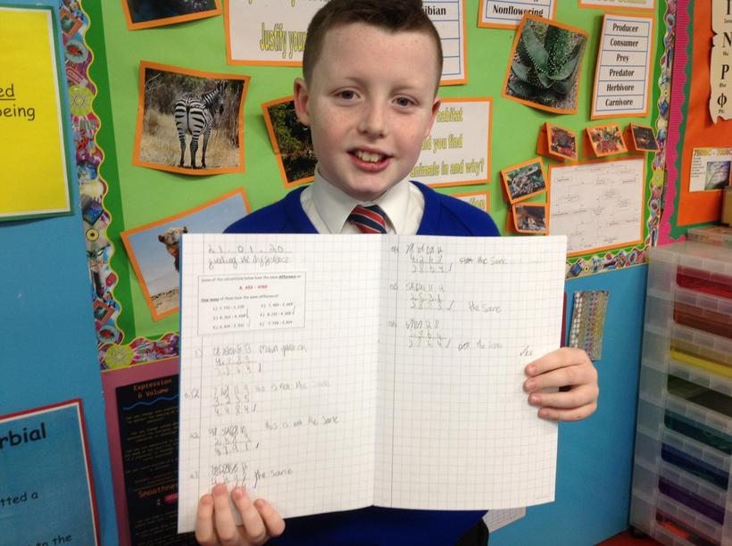 Finding the difference - a hard lesson's work!