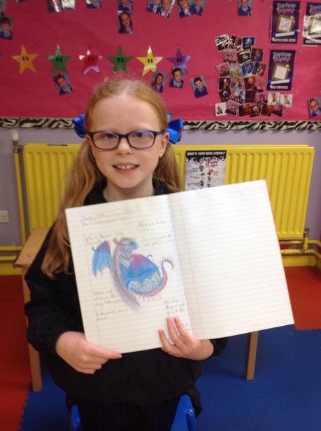 Designing and describing my mystical dragon!
