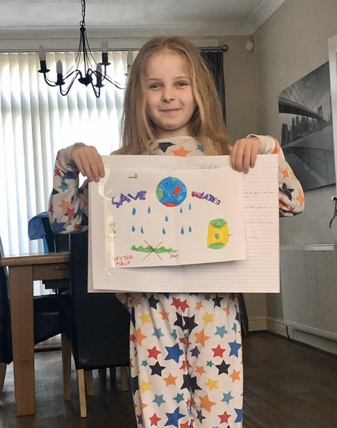 Lily's Water Cycle Diagram
