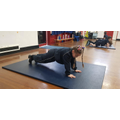 Working independently on core strength