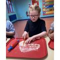 Year 5 - Making pasta dough shapes