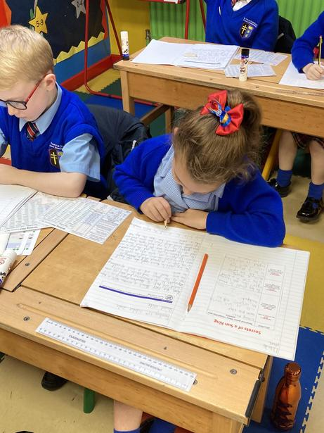 Using our plan to write independently
