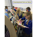 We love our new library!