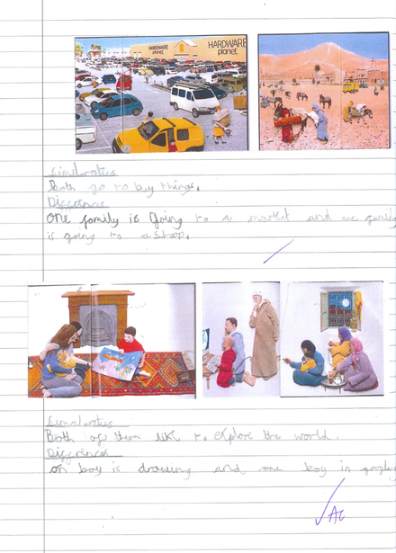 Analysing the wordless picture book, 'Mirror'