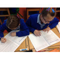 Using our 'polishing pens' to edit our writing