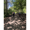 Working on our biking skills in Delamere