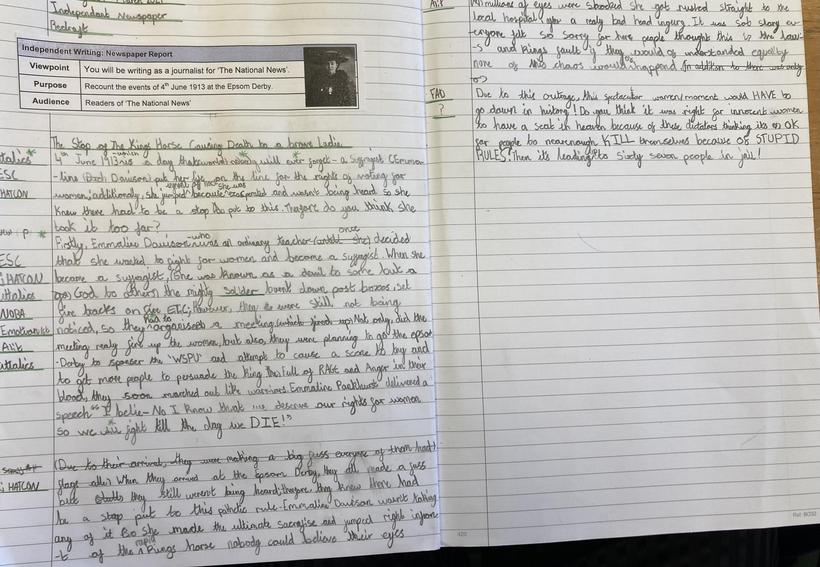 Independent Newspaper Report Final Write