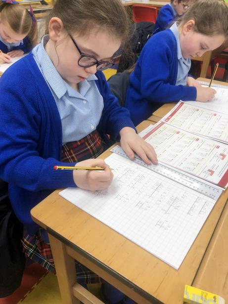 Working independently on Division methods