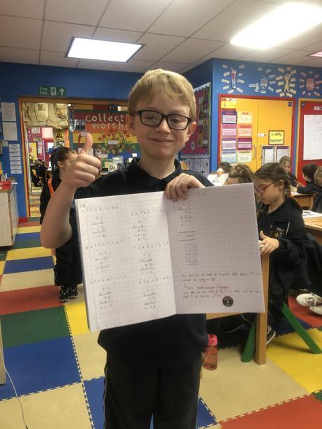 Some brilliant, independent Column Multiplication!