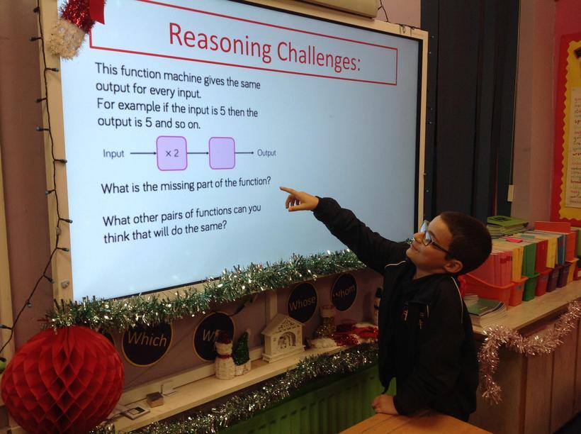 Explaining a reasoning challenge