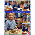 Year 4 - Presenting our completed dishes