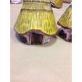 Round houses found at the Skara Brae