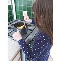 Emily's baking!