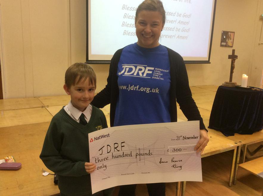 £300 was raised