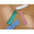Learning skills (sewing different stitches)
