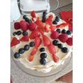 Union Jack cake by Emily
