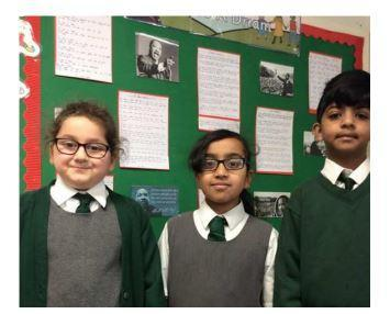 Year 4 wrote their own 'I have a dream' speeches