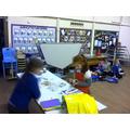 Enjoying our craft activities