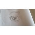 Chryssa - Drawing a realistic eye.