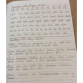 Handwriting and Guided Reading - Ahrienne