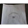 Nicole - Drawing a realistic eye.