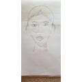 Portrait by Chryssa