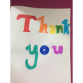 Esther - Thank You Poster