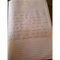 Handwriting - Leonor