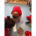 We made our own patterns independently