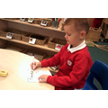 Name writing using our name cards