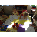 Free choice - These children chose to do maths
