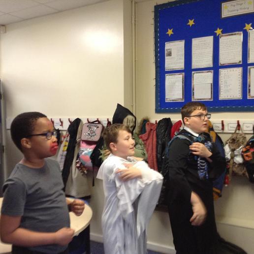 Creating a story pathway through drama.