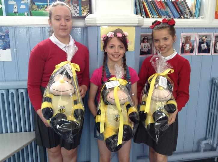 Winners of the bee design competition