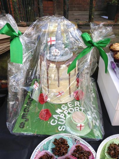 Raffle Prize kindly donated by H Wooding
