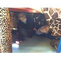 We enjoyed the Gruffalo cave
