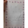 Poppy's Wesak writing