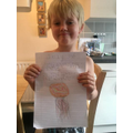 Tommy did some wonderful writing about jellyfish.