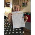 Super maths work Alice!